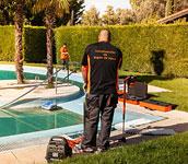 Detecci n de fugas de agua en piscinas y jardines en san - Deteccion de fugas de agua en piscinas ...
